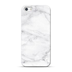 White Marble iPhone 5S, 5 Case