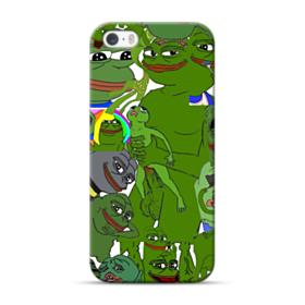 Rare pepe the frog seamless iPhone 5S, 5 Case