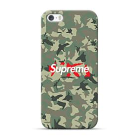 Supreme Camo iPhone 5S, 5 Case