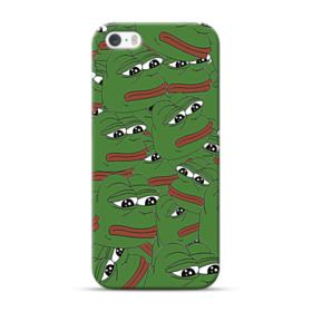 Sad Pepe frog seamless iPhone 5S, 5 Case