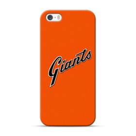 Giants Logo Orange iPhone 5S, 5 Case