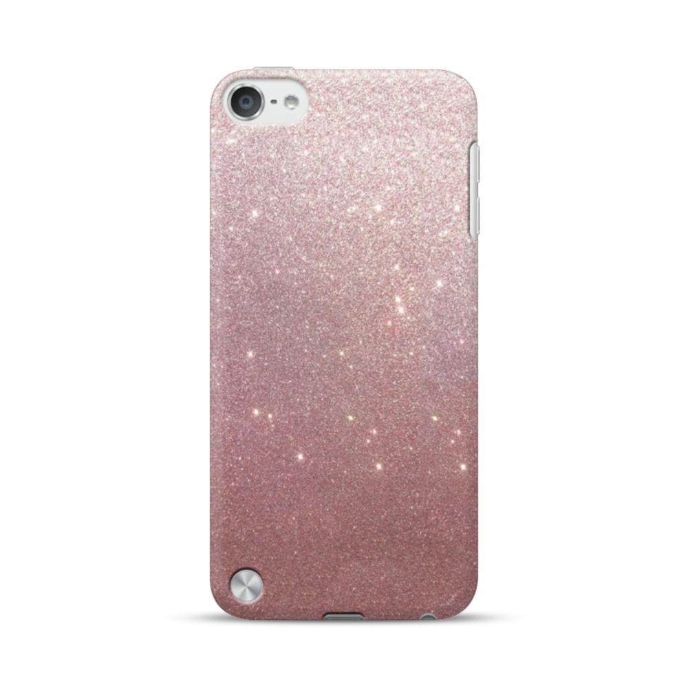 buy online 8c9e6 7e76b Rose Gold Glitter iPod Touch 5 Case