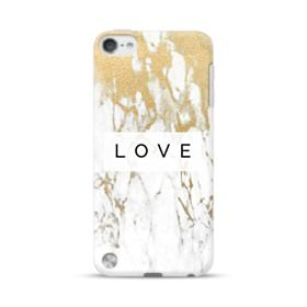 White Gold Marble iPod Touch 5 Case