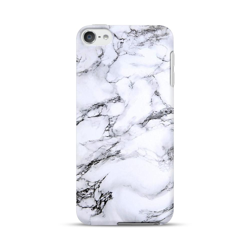 outlet store 17a95 b79f1 White Marble iPod Touch 6 Case
