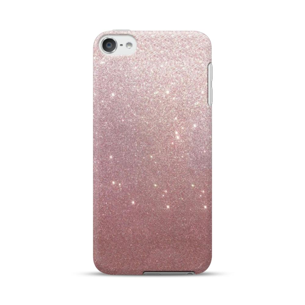 timeless design 0a33f 4dc44 Rose Gold Glitter iPod Touch 6 Case
