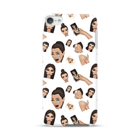 Kim Kardashian Emoji Kimoji seamless iPod Touch 6 Case