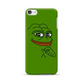 Smug Pepe Frog Funny Meme iPod Touch 6 Case