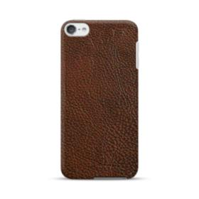 Dark Brown Leather iPod Touch 6 Case