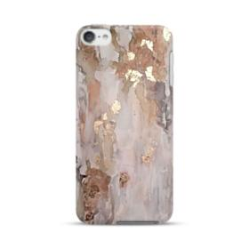 Gold abstract painting iPod Touch 6 Case