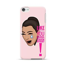 Crying Kim emoji kimoji meme  iPod Touch 6 Case