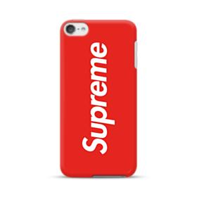 Red Supreme iPod Touch 6 Case