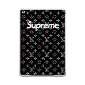 Supreme x Louis Vuitton Black Shaking Design iPad 9.7 (2017) Case