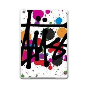 Stussy Colorful Water Paint Dots iPad 9.7 (2017) Case