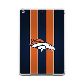 Denver Broncos Vertical Stripes Orange iPad 9.7 (2017) Case