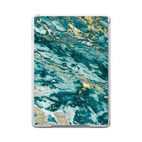 Turquoise and Gold Marble iPad 9.7 (2017) Case