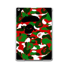 Colorful Camouflage AAPE Logo iPad 9.7 (2017) Case