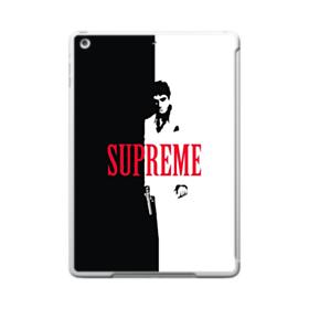 Vintage Supreme Black and White Man iPad 9.7 (2017) Case