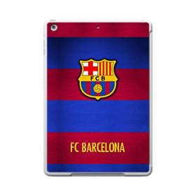 FC Barcelona Banners iPad 9.7 (2017) Clear Silicone Case