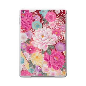 Sakura Vintage iPad 9.7 (2017) Clear Silicone Case