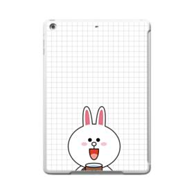 Line Friends Cony iPad 9.7 (2017) Clear Silicone Case