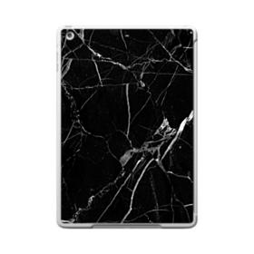 Black & White Marble iPad 9.7 (2017) Clear Silicone Case