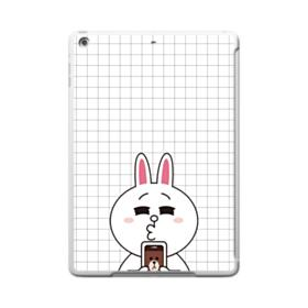 Line Friends Cony in Love iPad 9.7 (2017) Clear Silicone Case
