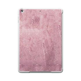 Pink Glitter iPad 9.7 (2017) Clear Silicone Case
