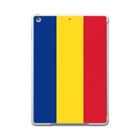 Flag of Romania iPad 9.7 (2017) Clear Silicone Case