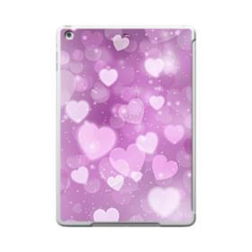 Aurora Hearts iPad 9.7 (2017) Clear Silicone Case