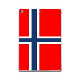 Flag of Norway iPad 9.7 (2017) Clear Silicone Case
