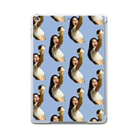 Kendall Jenner funny  iPad 9.7 (2017) Clear Silicone Case