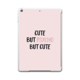 Cute But Psycho But Cute iPad 9.7 (2017) Clear Silicone Case