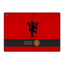 Manchester United Team Logo Red Devil Banner iPad 9.7 (2017) Folio Case