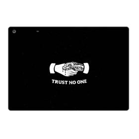 Trust No One iPad 9.7 (2017) Folio Case