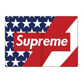 Supreme Logo with USA Flag iPad 9.7 (2017) Folio Case
