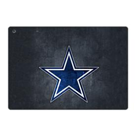 Dallas Cowboys Star Logo Grunge iPad 9.7 (2017) Folio Case
