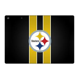 Pittsburgh Steelers Team Logo Vertical Stripes iPad 9.7 (2017) Folio Case