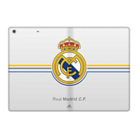 Real Madrid Team Logo Gray iPad 9.7 (2017) Folio Case