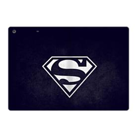 Black Superman Logo iPad 9.7 (2017) Folio Case