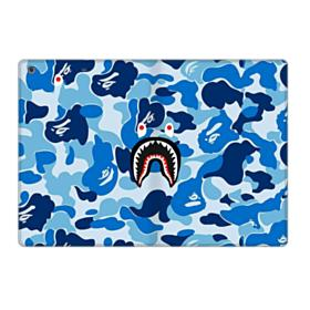 Bape Shark Blue Camo iPad 9.7 (2017) Folio Case