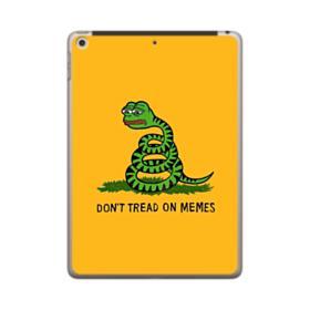 Pepe the frog don't tread on memes iPad 9.7 (2018) Case