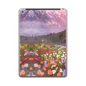 Snow Mountain Garden iPad 9.7 (2018) Case