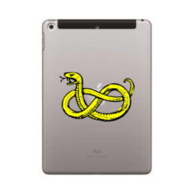Clipart Of Snake iPad 9.7 (2018) Case