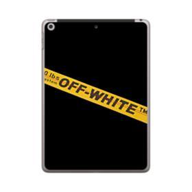Off White Lining iPad 9.7 (2018) Case