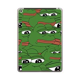 Sad Pepe frog seamless iPad 9.7 (2018) Case