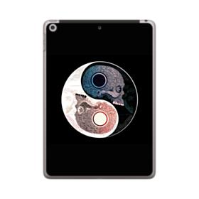 Yin Yang Skull Artwork iPad 9.7 (2018) Case