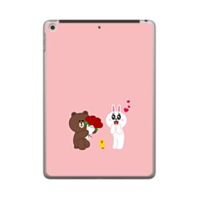 Line Friends Brown And Cony iPad 9.7 (2018) Case