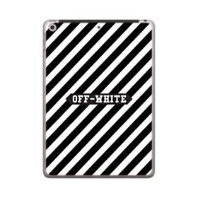 Off-White Label Stripes iPad 9.7 (2018) Case