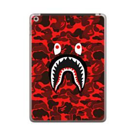 Bape Logo Red Camo iPad 9.7 (2018) Case