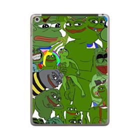 Rare pepe the frog seamless iPad 9.7 (2018) Case